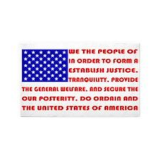 Preamble Flag 3'x5' Area Rug