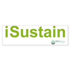 i Sustain Bumper Sticker