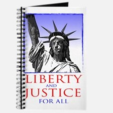 Statue of Liberty (for dark shirts) Journal