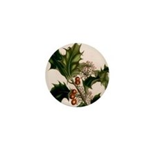 holly berries Mini Button