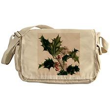 holly berries Messenger Bag