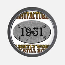 1931 Wall Clock