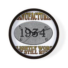 1934 Wall Clock
