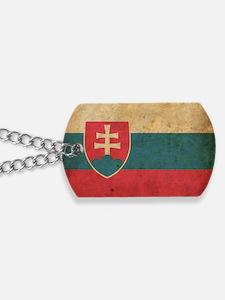 vintageSlovakia3 Dog Tags