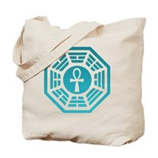 Dharma Ankh Clock Tote Bag
