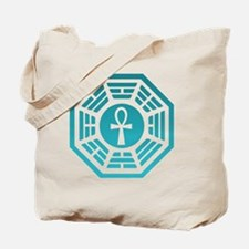 Dharma Ankh Clock Tote Bag