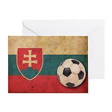 vintageSlovakia4 Greeting Card