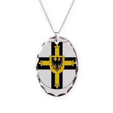 Teutonic Knights Grand Master Necklace Oval Charm