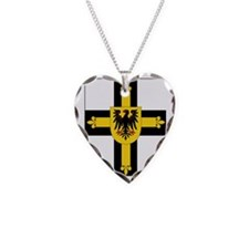 Teutonic Knights Grand Master Necklace Heart Charm