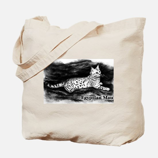 Egyptian Mau Tote Bag