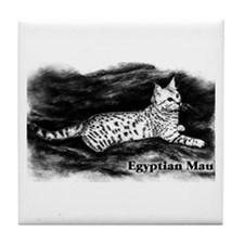 Egyptian Mau Tile Coaster