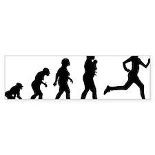 Jogging Bumper Sticker