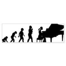 Pianist Car Sticker