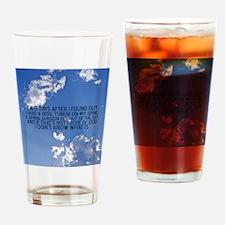 2-spinalsurgeonbutton Drinking Glass