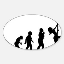 Pole Dancer Decal