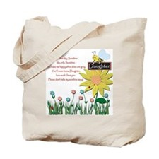 You Are My Sunshine Daughter Tote Bag