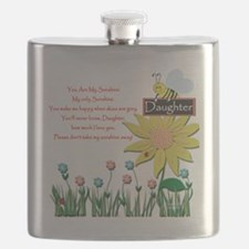 You Are My Sunshine Daughter Flask