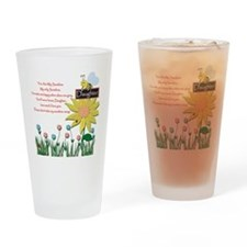You Are My Sunshine Daughter Drinking Glass