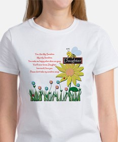 You Are My Sunshine Daughter Tee