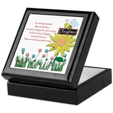 You Are My Sunshine Daughter Keepsake Box