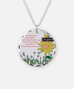 You Are My Sunshine Daughter Necklace