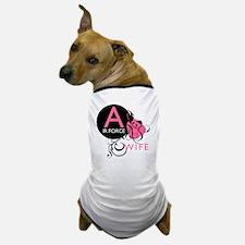 InitialLadyLikeAirForceWife Dog T-Shirt