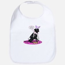 Black Lab Easter Bib