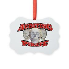 Pirate_Auditing_21x14 Ornament