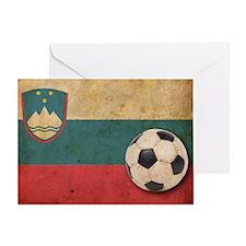vintageSlovenia3 Greeting Card