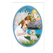 Angel Love - Maltese Postcards (Package of 8)