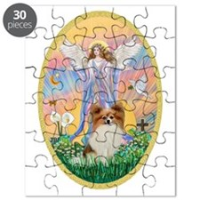 Angel Blessings - Papillon (fawn) Puzzle