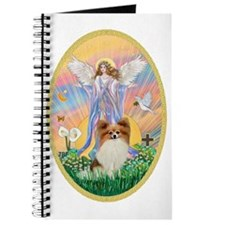 Angel Blessings - Papillon (fawn) Journal