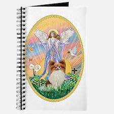 Angel Blessings - Papillon (fawn) Journal