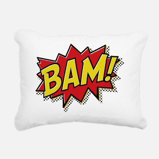 2-Bam Rectangular Canvas Pillow