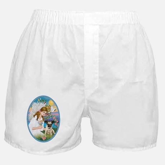 Angel Love - Pug Pup Boxer Shorts
