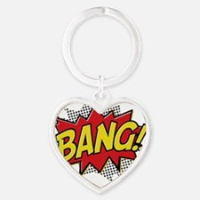 2-Bang 2 Heart Keychain