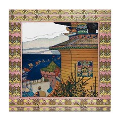 Maiden By The Sea Tile Coaster