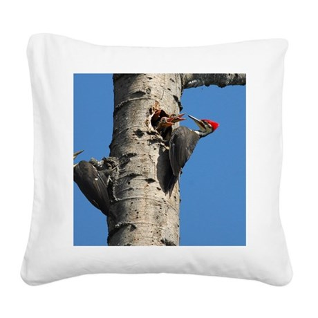 14x10_print 2 Square Canvas Pillow