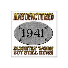 """1941 Square Sticker 3"""" x 3"""""""
