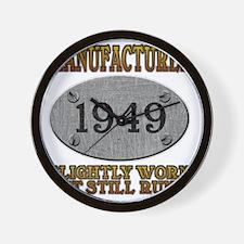 1949 Wall Clock