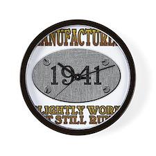 1941 Wall Clock