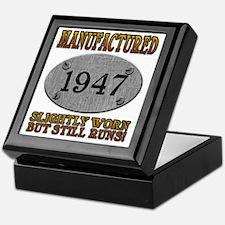 1947 Keepsake Box