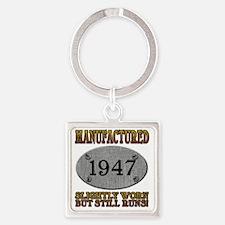 1947 Square Keychain