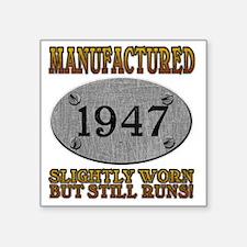 """1947 Square Sticker 3"""" x 3"""""""