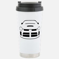 line_drawing-neon_black Stainless Steel Travel Mug