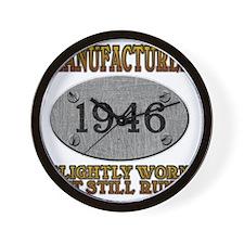 1946 Wall Clock