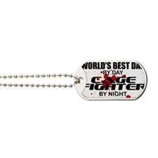 CAGE FIGHTER copy Dog Tags