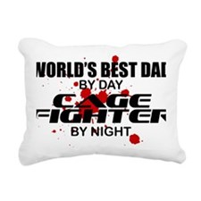 CAGE FIGHTER copy Rectangular Canvas Pillow