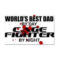 CAGE FIGHTER copy Rectangle Car Magnet