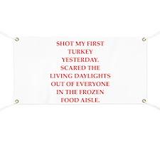 turkey shoot Banner